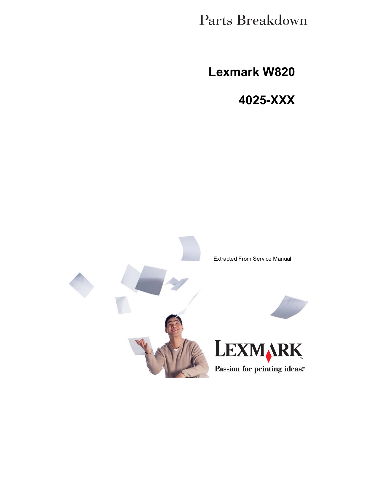 download free pdf for lexmark optra w820 printer manual rh umlib com Lexmark Printers All in One Toner for Lexmark MS310d