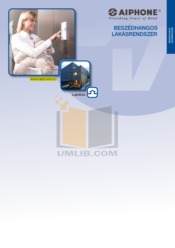 pdf for Aiphone Other IE-DL1 Intercoms manual