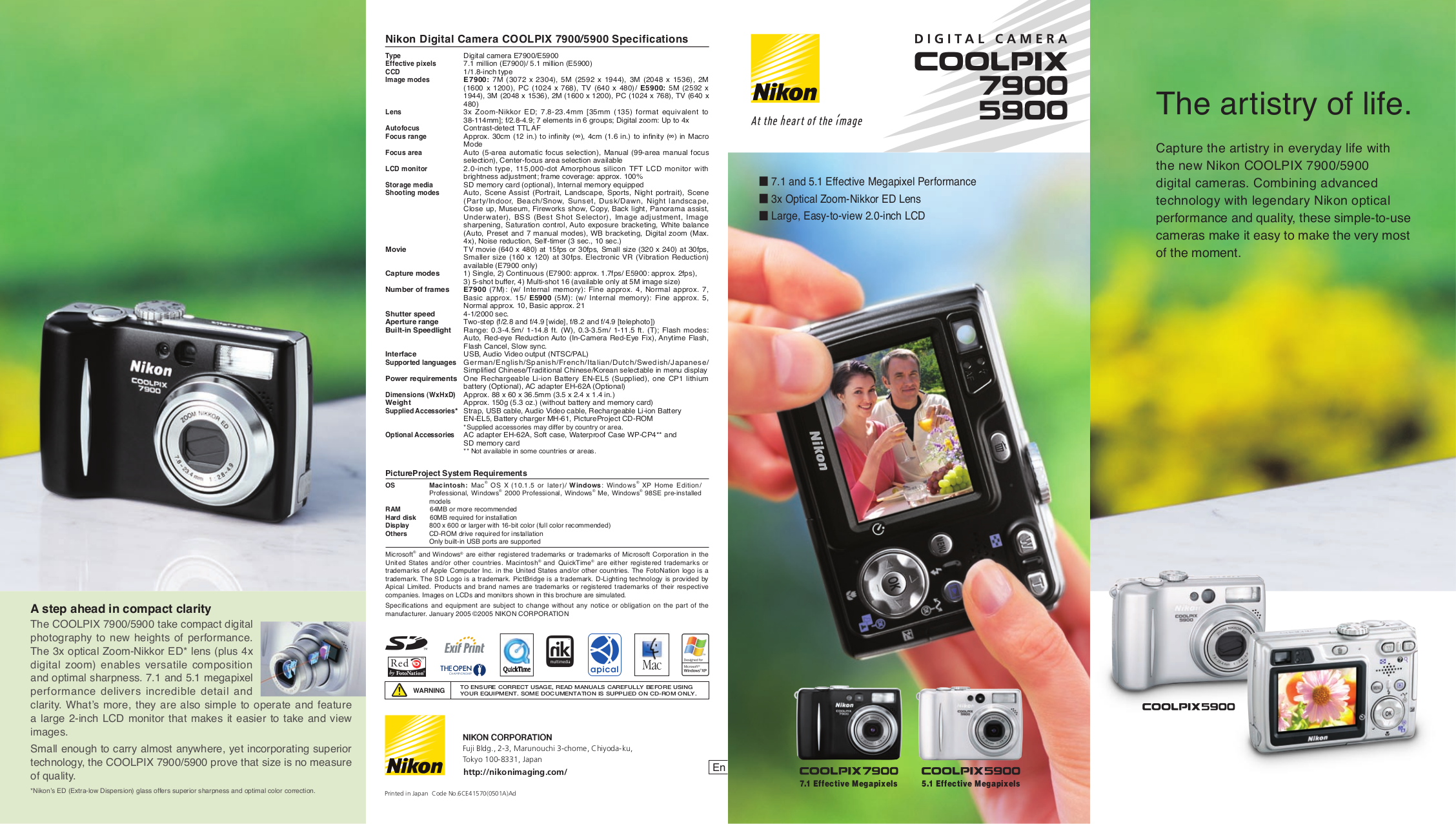pdf for Nikon Other WP-CP4 Camera Underwater Case manual