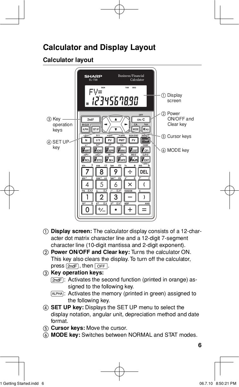 pdf manual for sharp calculator el 738 rh umlib com Of VL Pics Sharp Ah50u Sharp Viewcam Camera