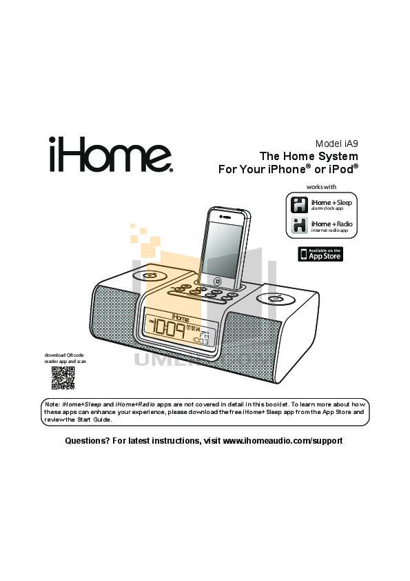pdf for Astone Other i-NAP Docking Station manual