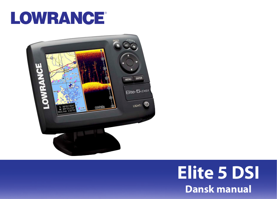 pdf for Lowrance GPS Elite-5 DSI manual