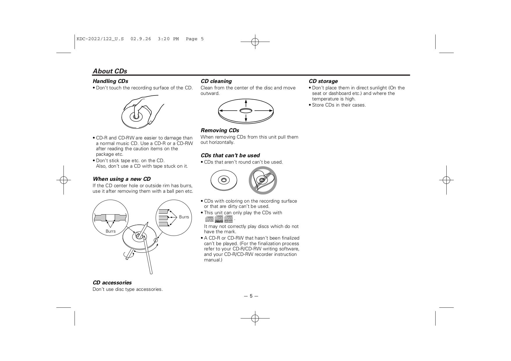 Pdf Manual For Kenwood Car Receiver Kdc