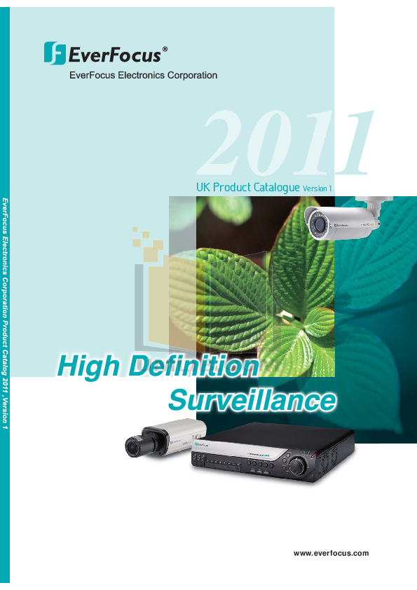pdf for EverFocus Security Camera EPD200A manual