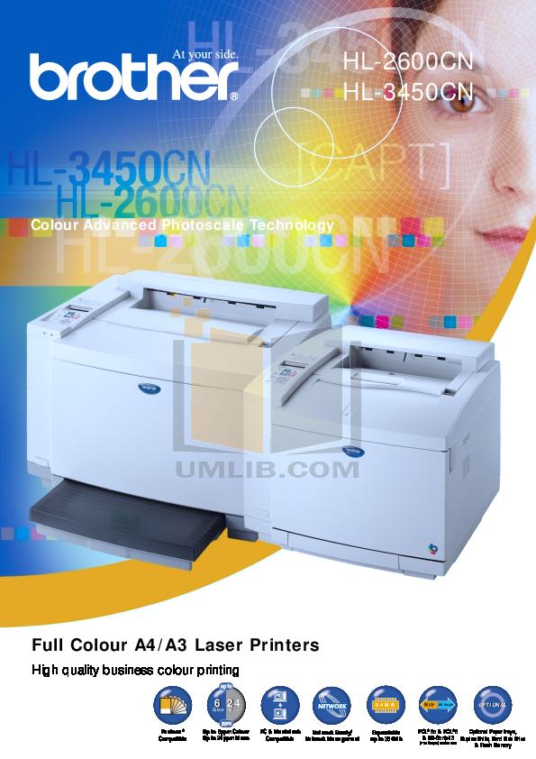 pdf for Brother Printer HL-3260N manual