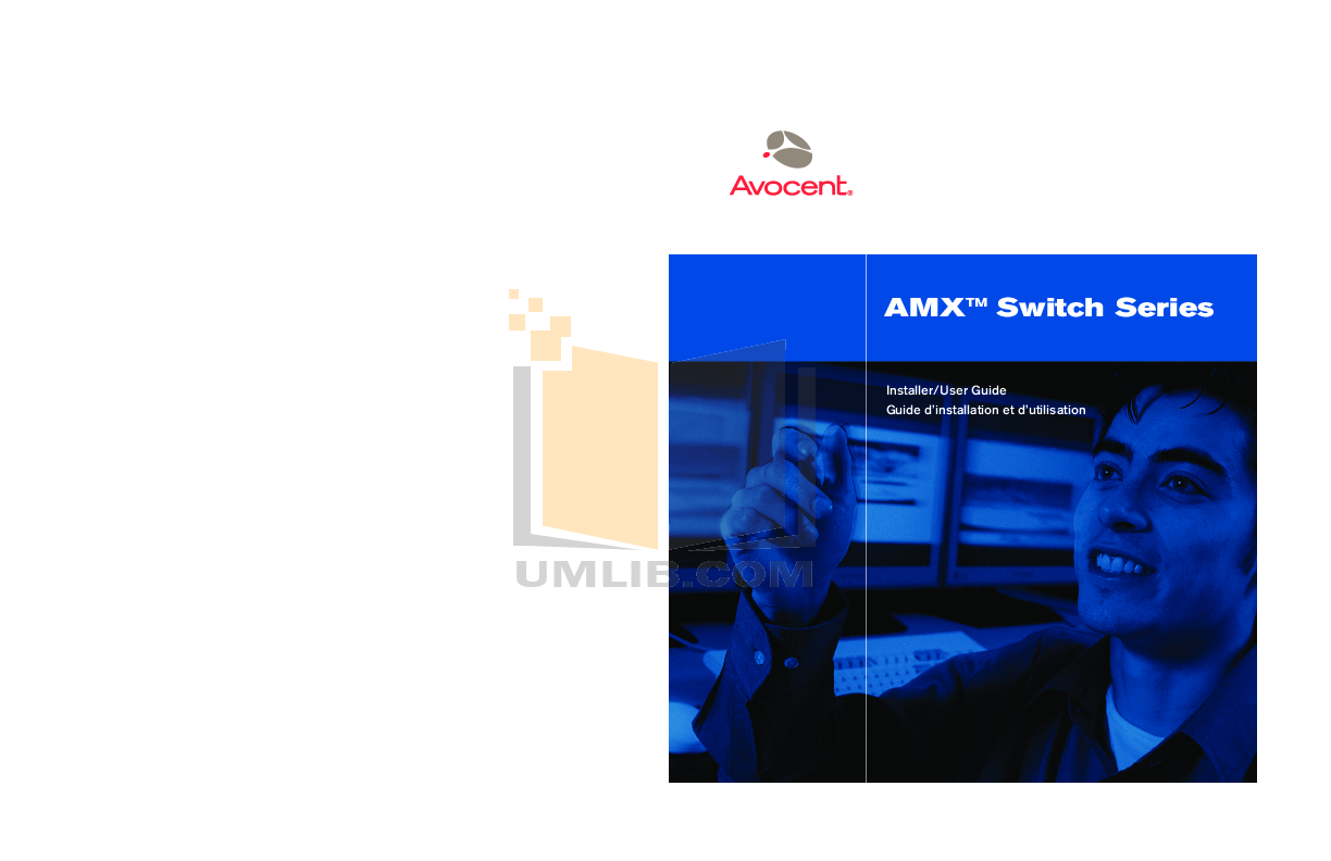 pdf for Avocent Switch AMX5100 manual