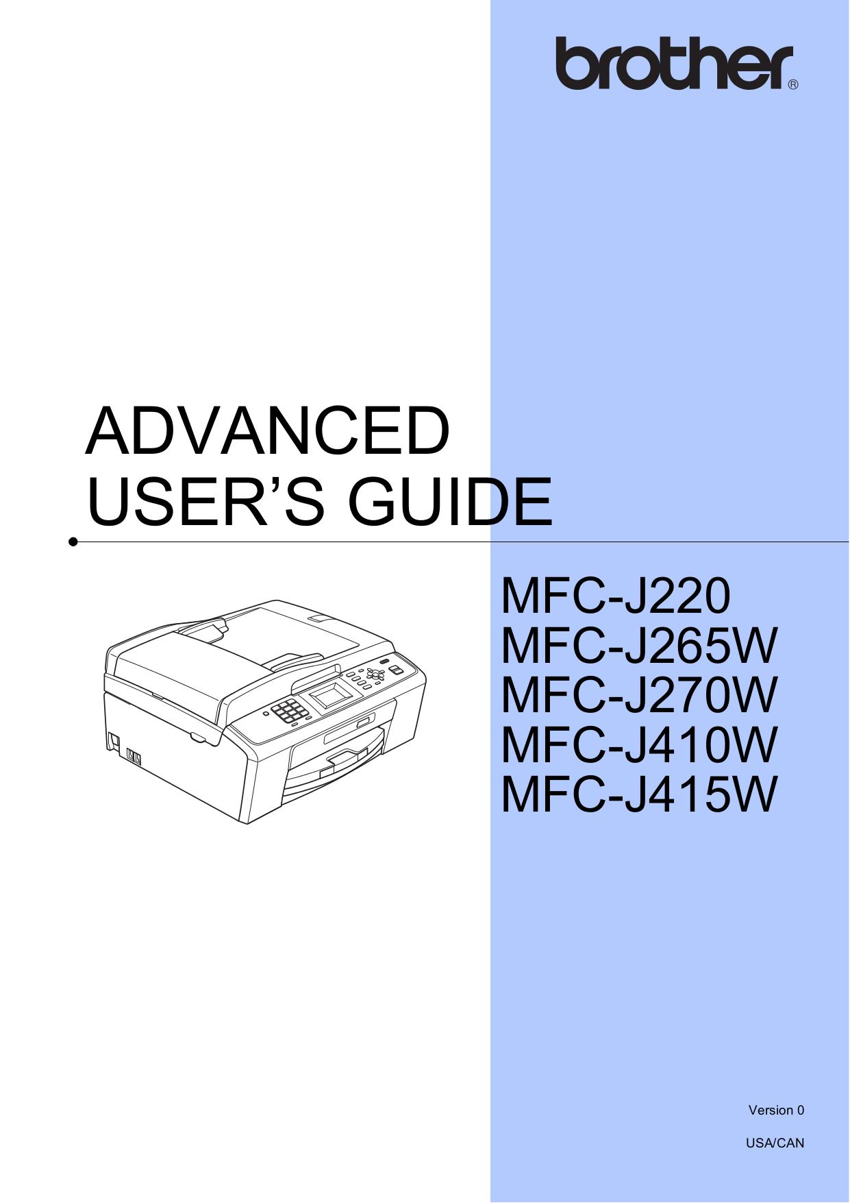 brother mfc j470dw manual pdf