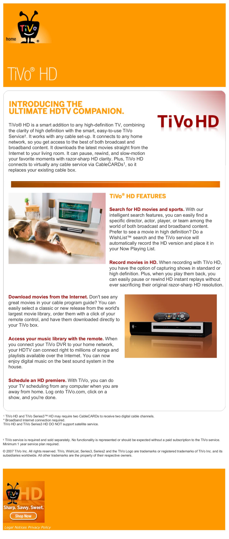 download free pdf for tivo series3 hd dvr manual rh umlib com TiVo Premiere Manual TiVo Series 4 Manual