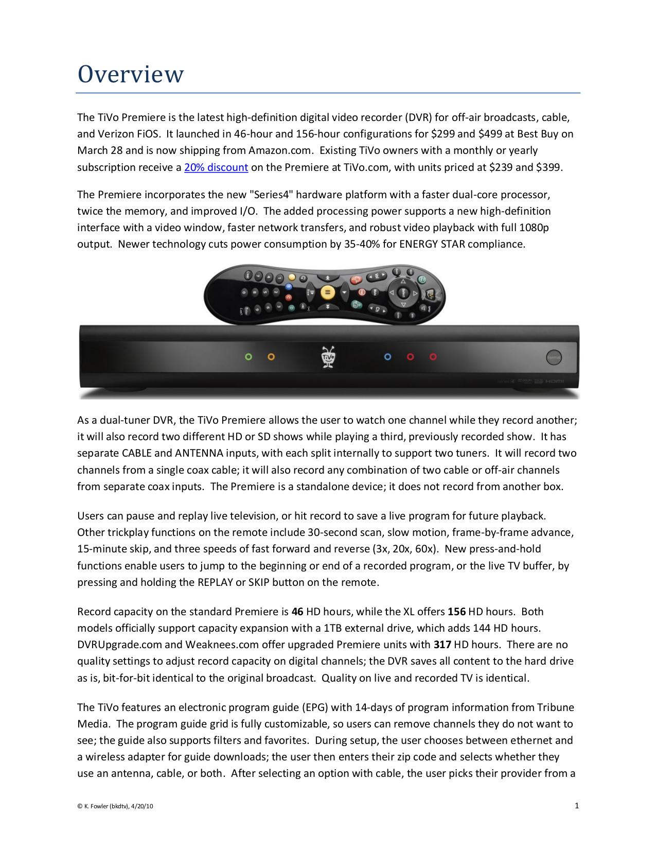 download free pdf for tivo series3 hd dvr manual rh umlib com TiVo Series 2 TiVo Premiere Manual