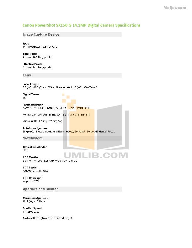 download free pdf for canon powershot sx150 is digital camera manual rh umlib com canon powershot sx150 user manual pdf canon powershot sx150 is manual portugues