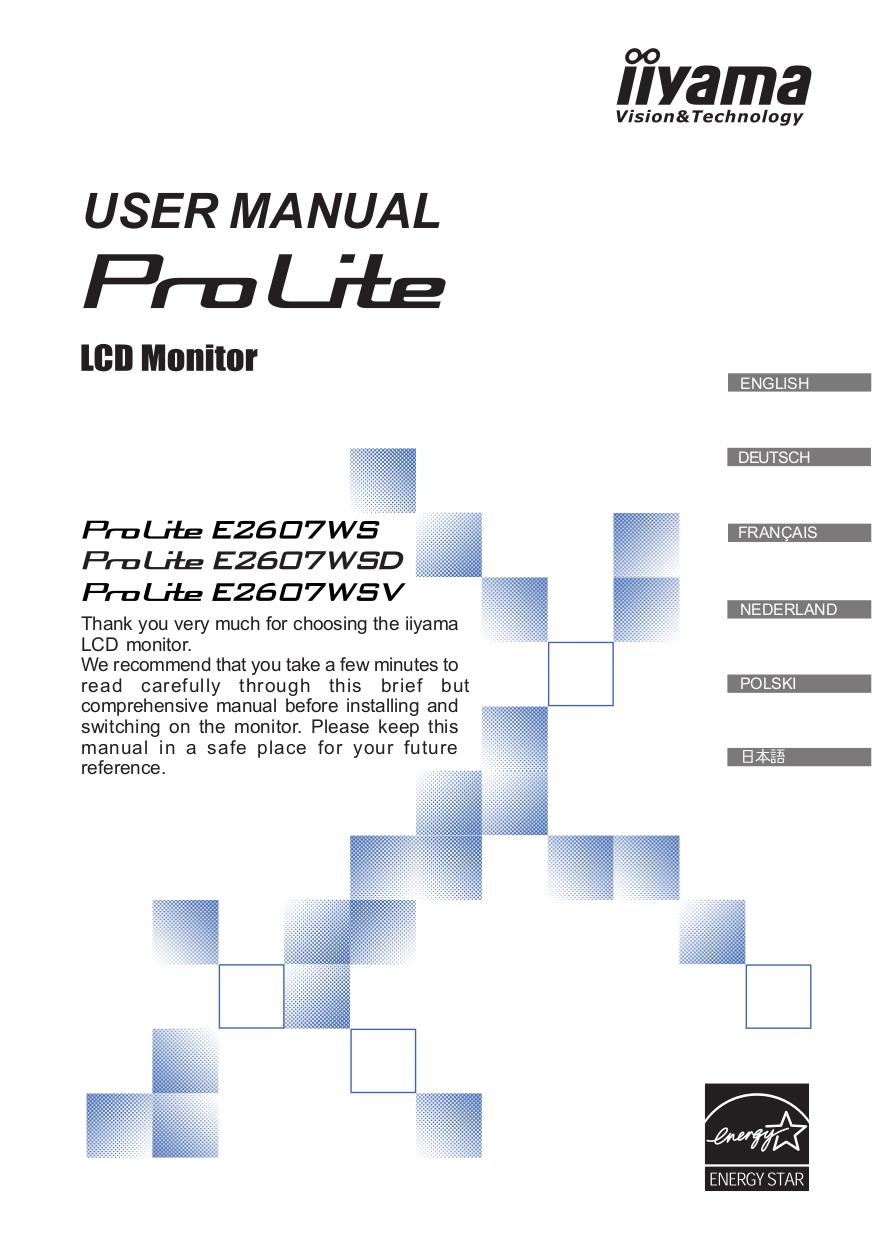 iiyama instruction manual ebook