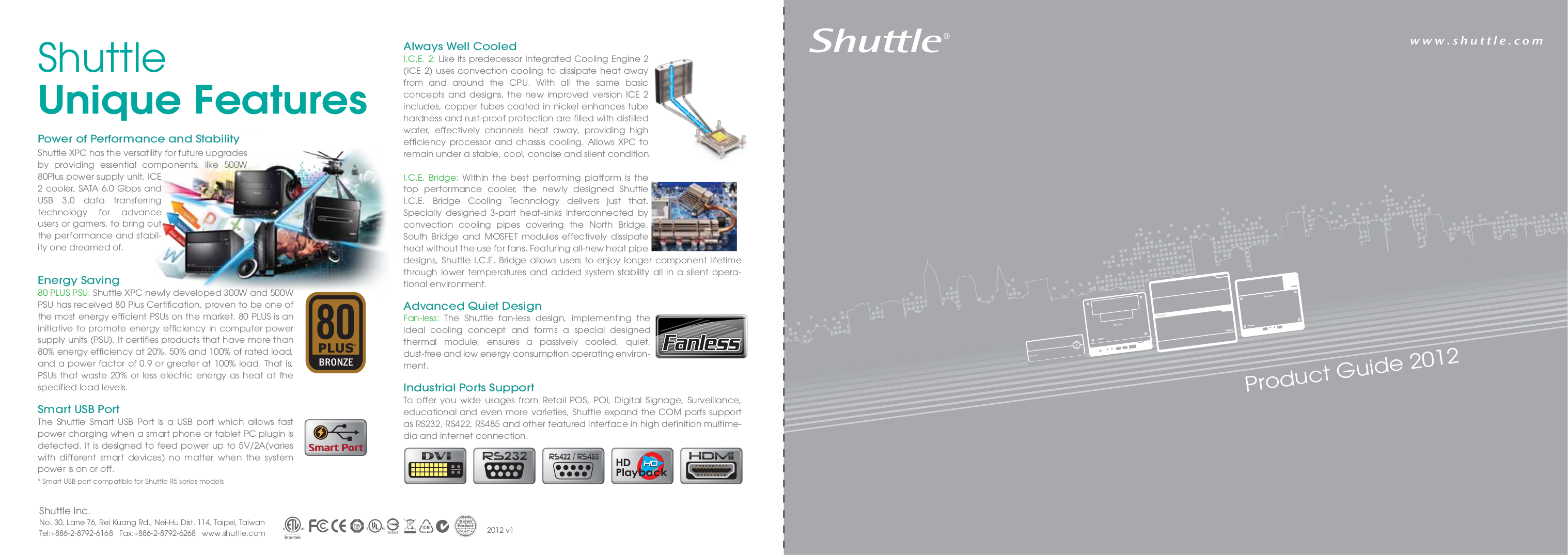 pdf for Shuttle Desktop XS35GT manual