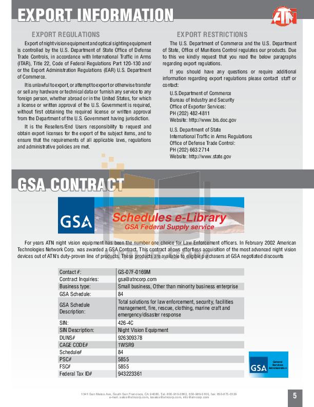 Atn Binocular Voyager 2 pdf page preview