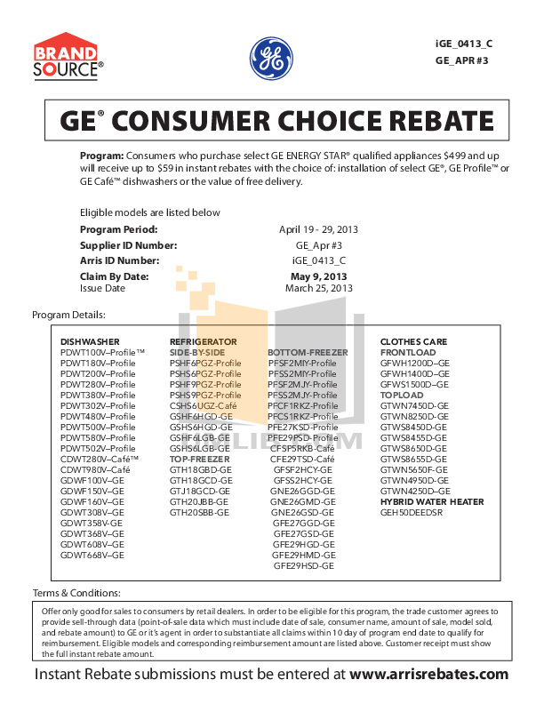 pdf for GE Dishwasher PDWT500V manual