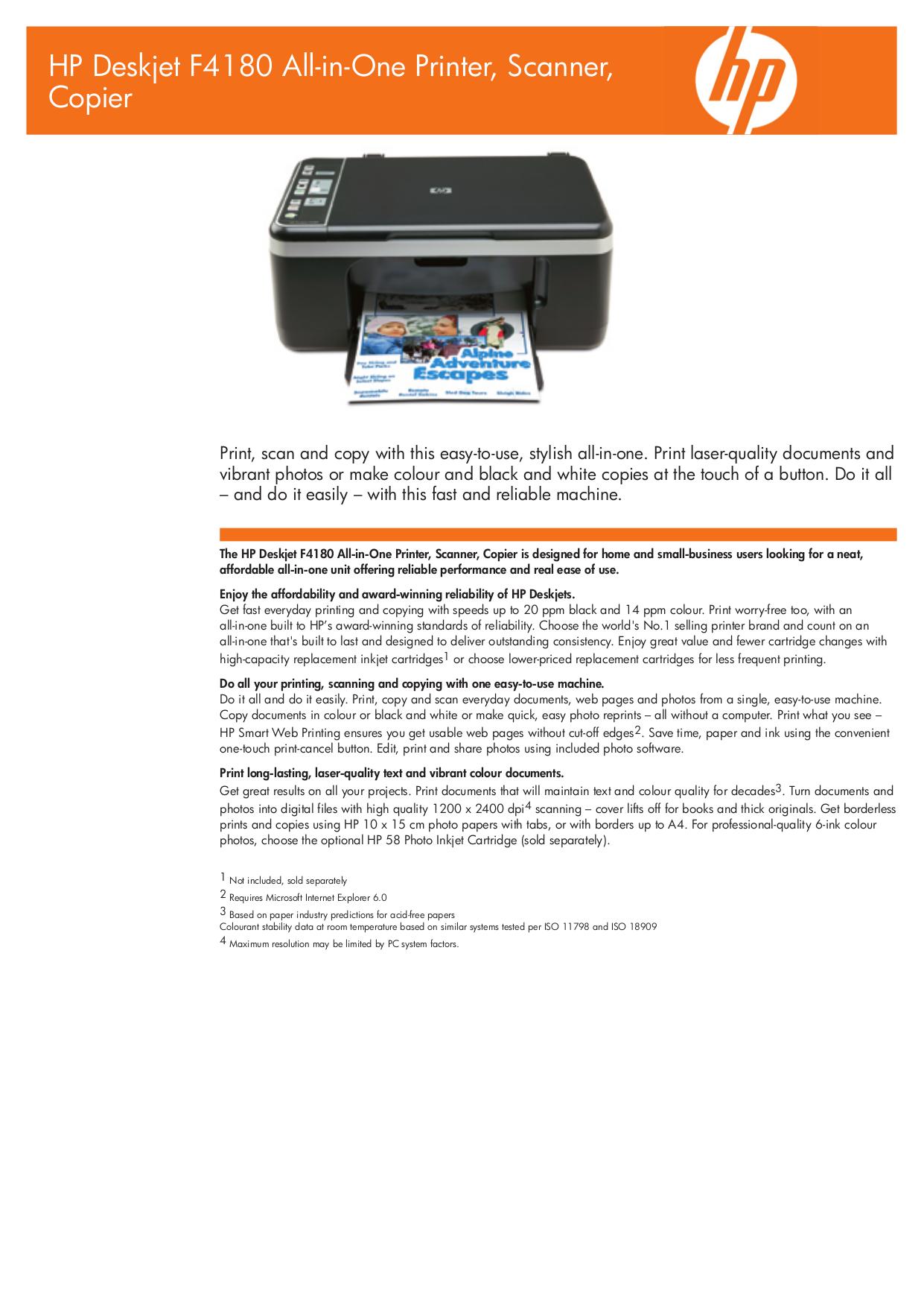 download free pdf for hp deskjet f4180 multifunction printer manual rh umlib com hp f4180 manuel hp deskjet f4180 service manual