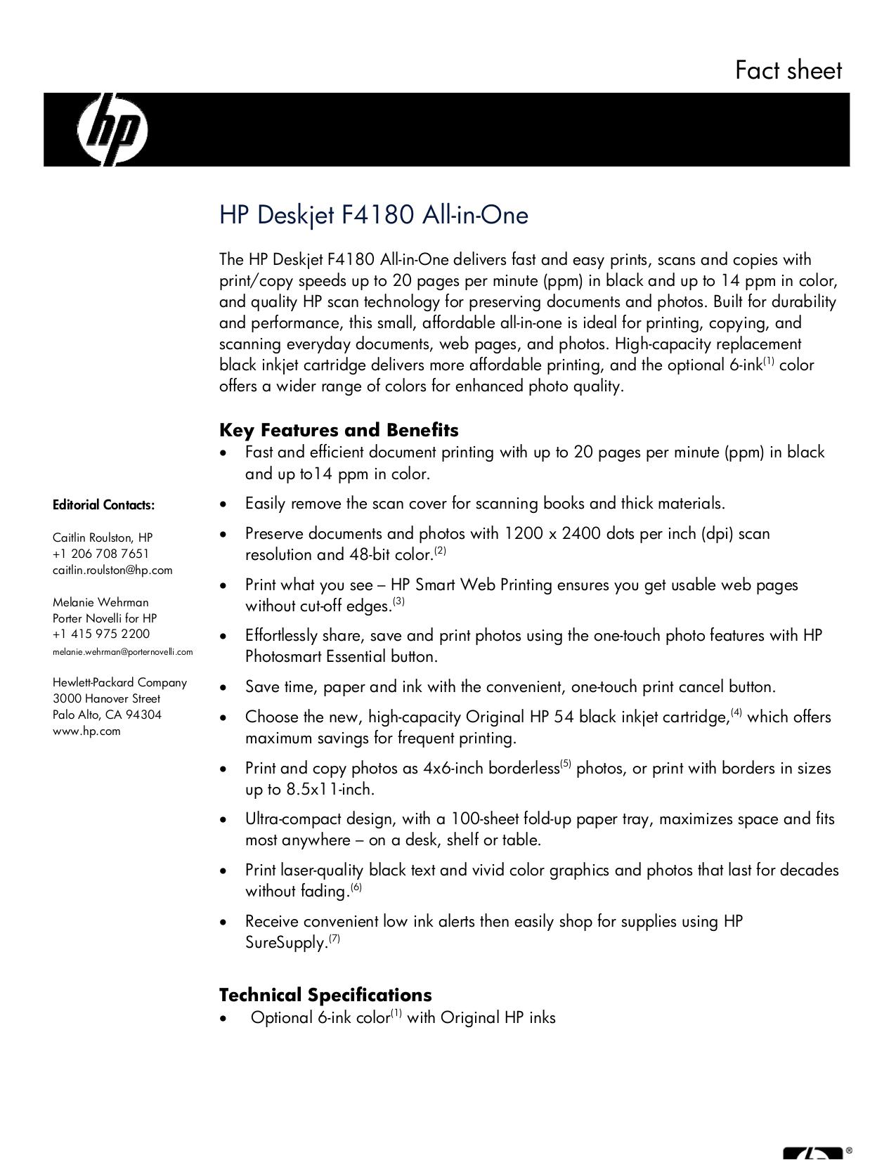 download free pdf for hp deskjet f4180 multifunction printer manual rh umlib com hp deskjet f4180 manual hp f4180 manual pdf