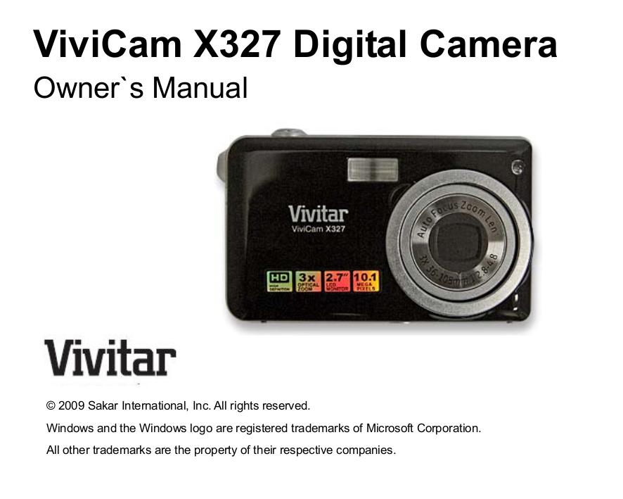 download free pdf for vivitar vivicam t324n digital camera manual rh umlib com