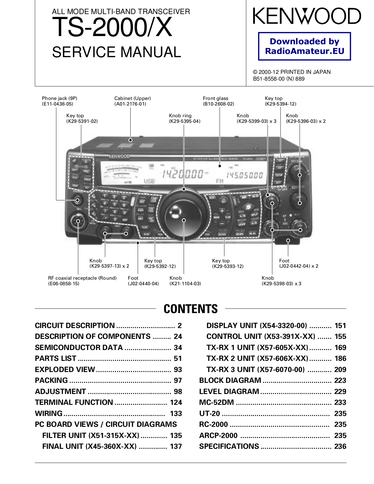 Wiring Diagram For Kenwood Vr 405 : Pdf manual for kenwood receiver vr