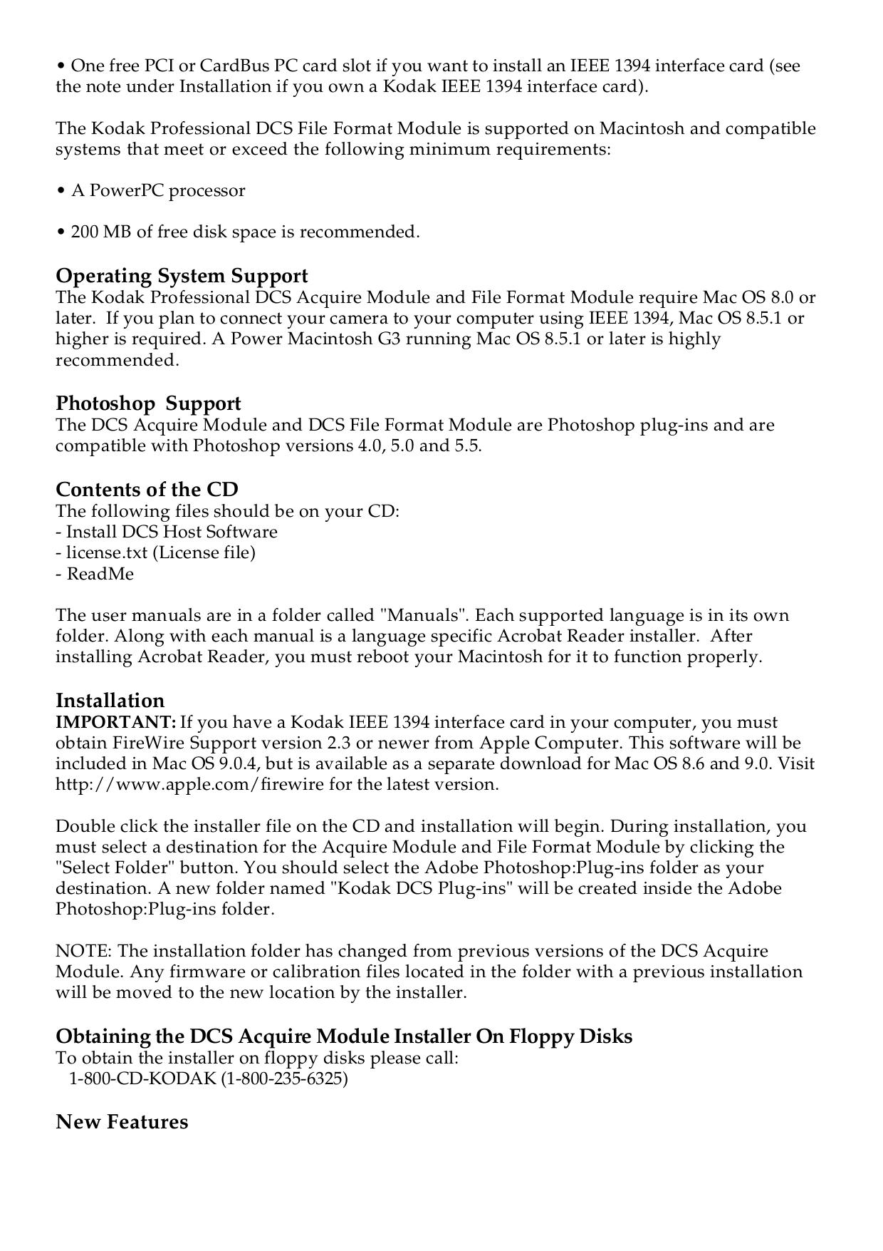 PDF manual for Kodak Digital Camera DCS 420