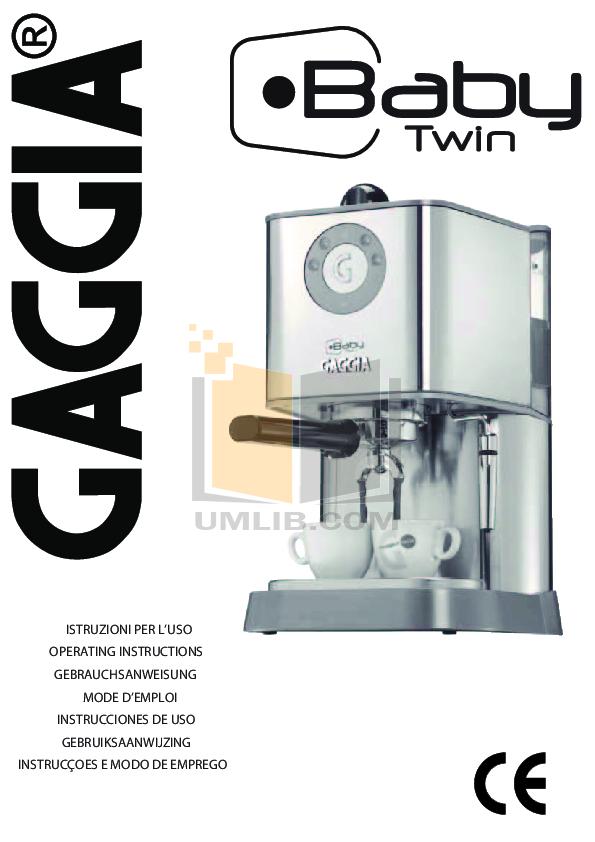 Gaggia baby 89 91 v230 service manual download, schematics, eeprom.