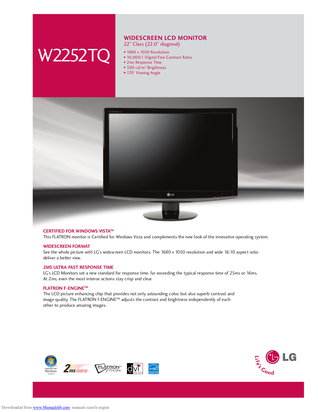 download free pdf for lg w2252tq monitor manual rh umlib com lg flatron m2362d manual lg flatron m2362d manual