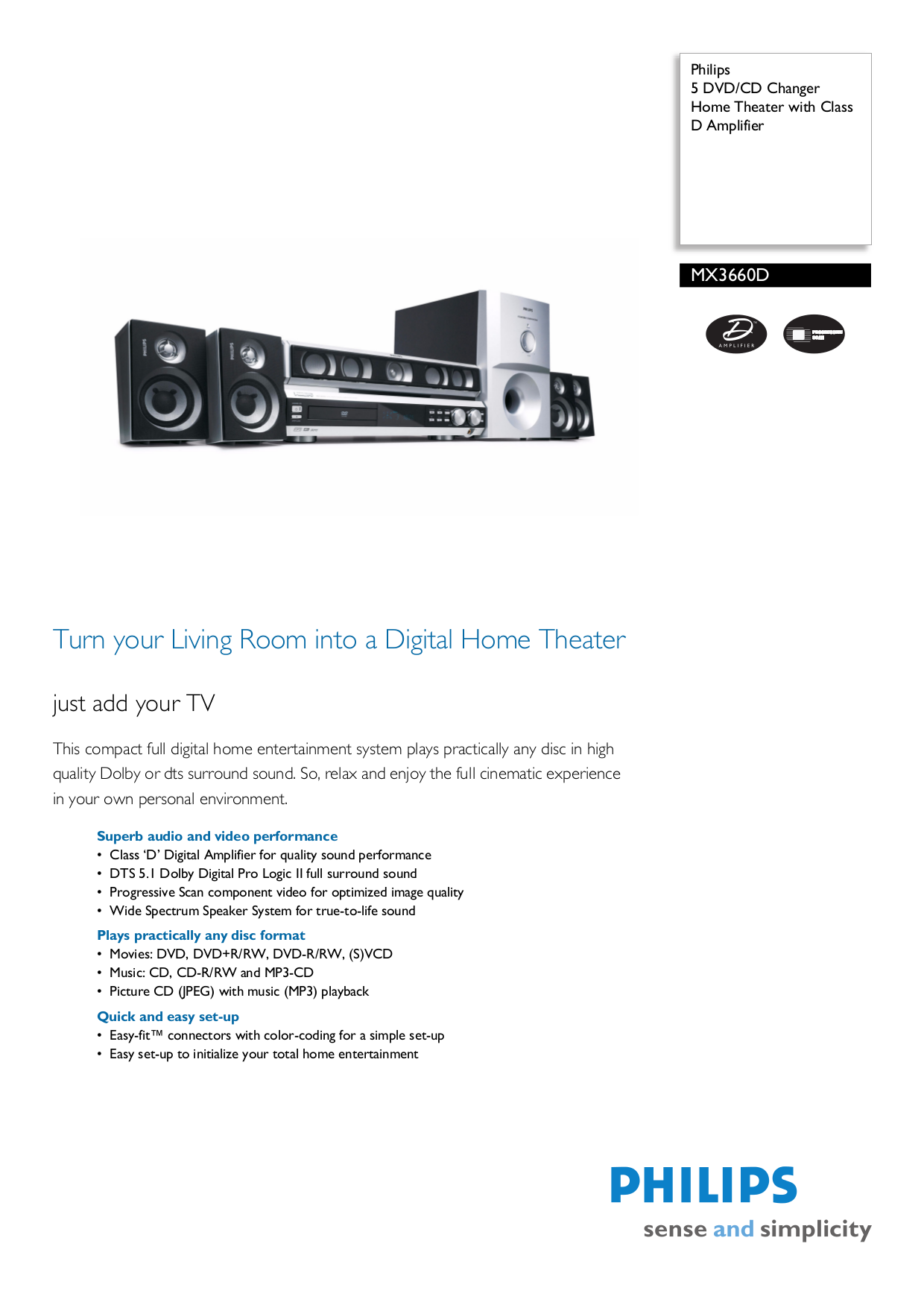 download free pdf for philips mx3660d home theater manual rh umlib com Philips TV User Manual Philips Product Manuals