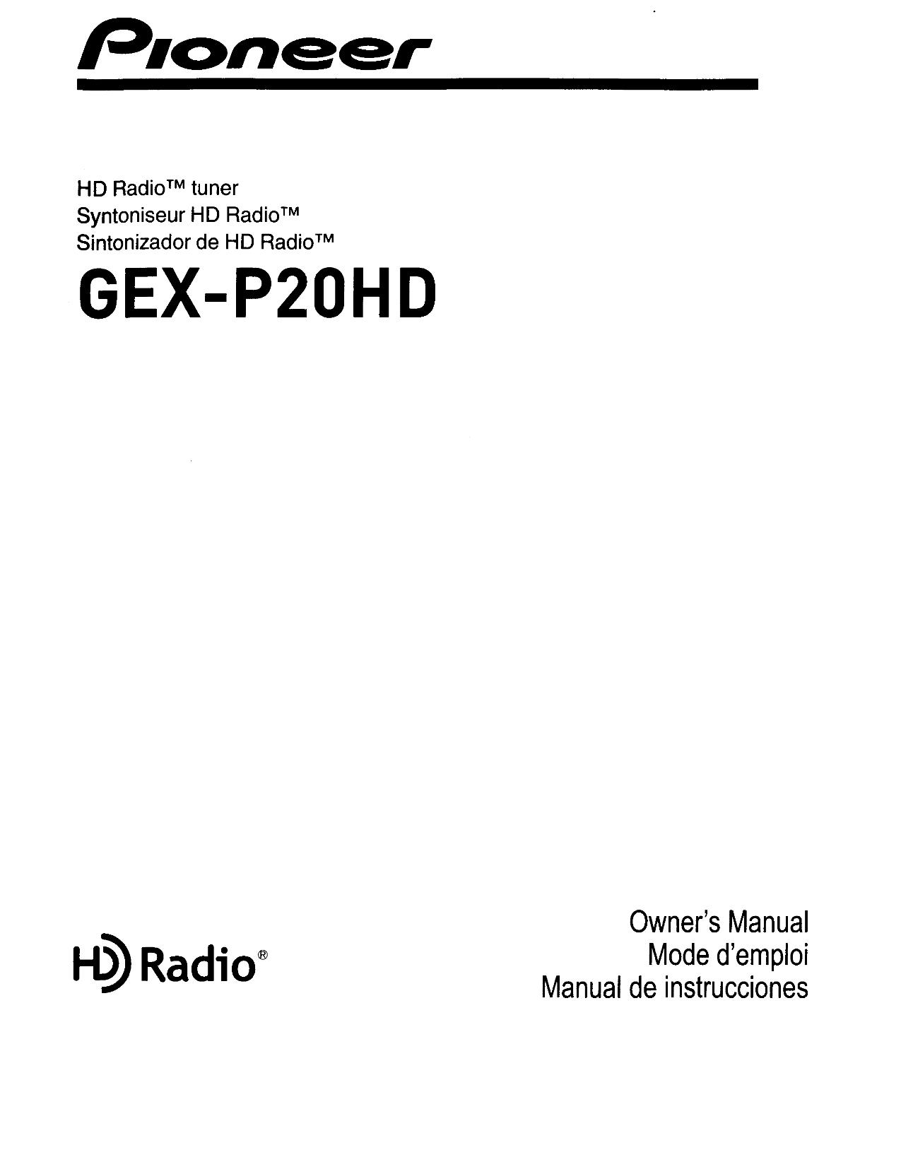 pdf for pioneer car video avic-n4 manual