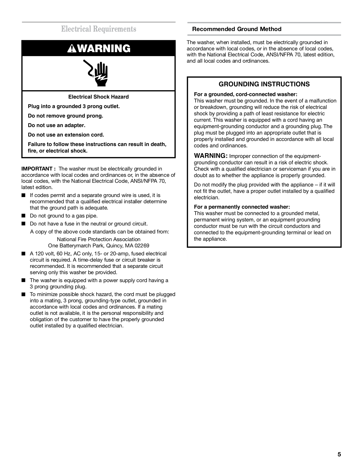 PDF manual for Maytag Washer MAT14PDAW