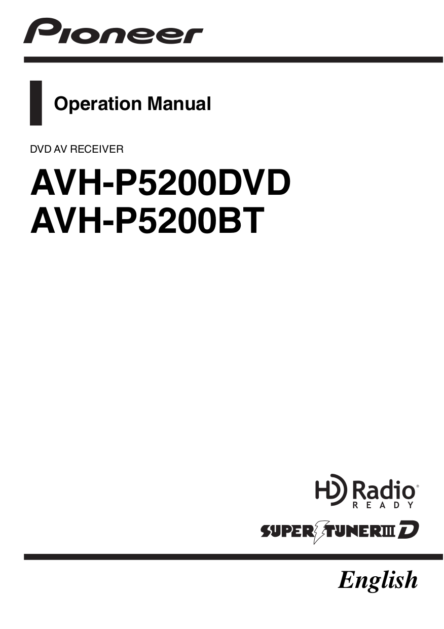 Download Free Pdf For Pioneer Avhp5200dvd Car Video Manual. Pdf For Pioneer Car Video Avhp5200dvd Manual. Wiring. Wiring Diagram Pioneer Avh 5200 Video At Scoala.co