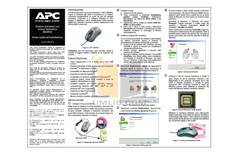 pdf for APC Mouse BIOM34 manual
