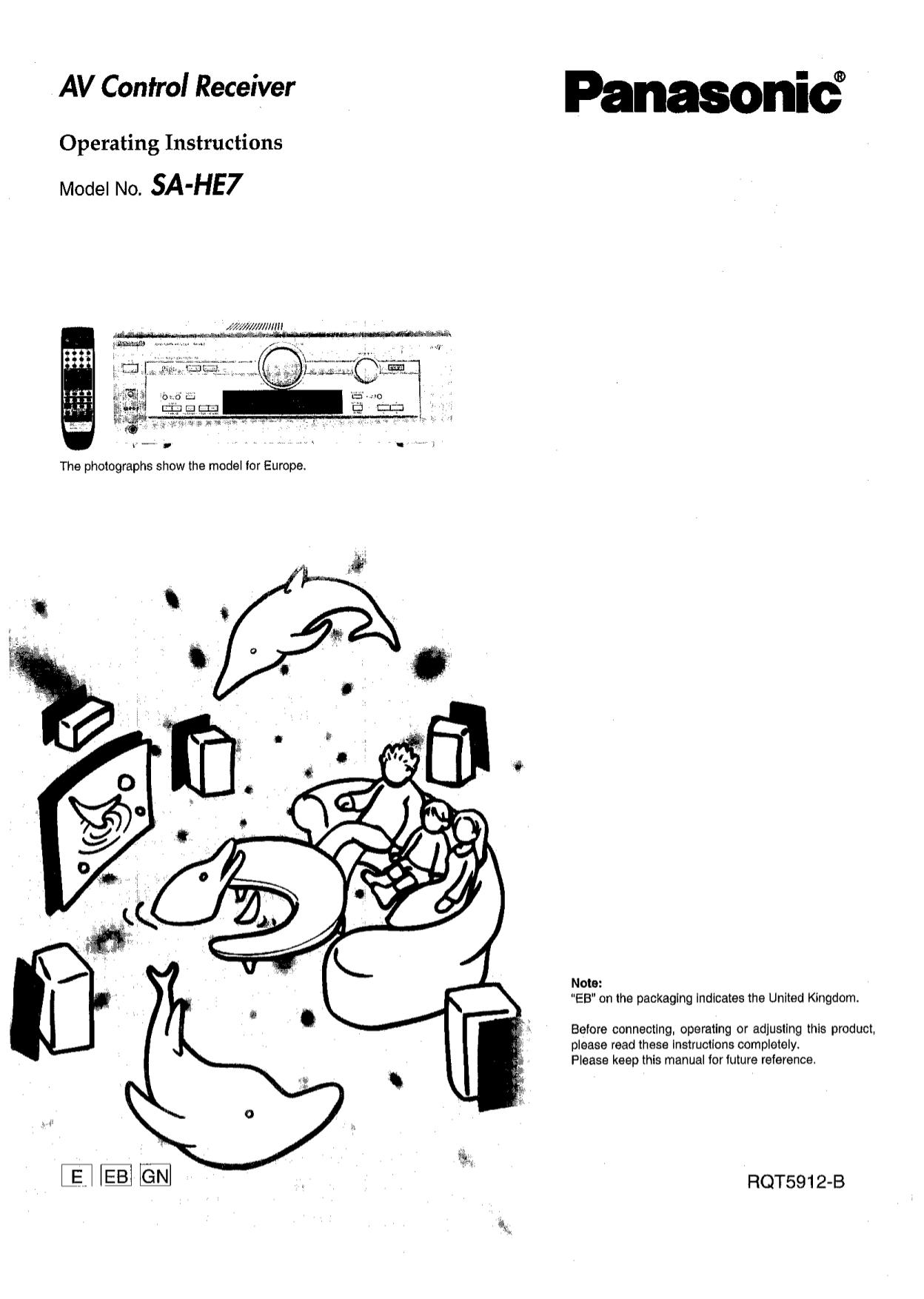 Panasonic sa he70 manual