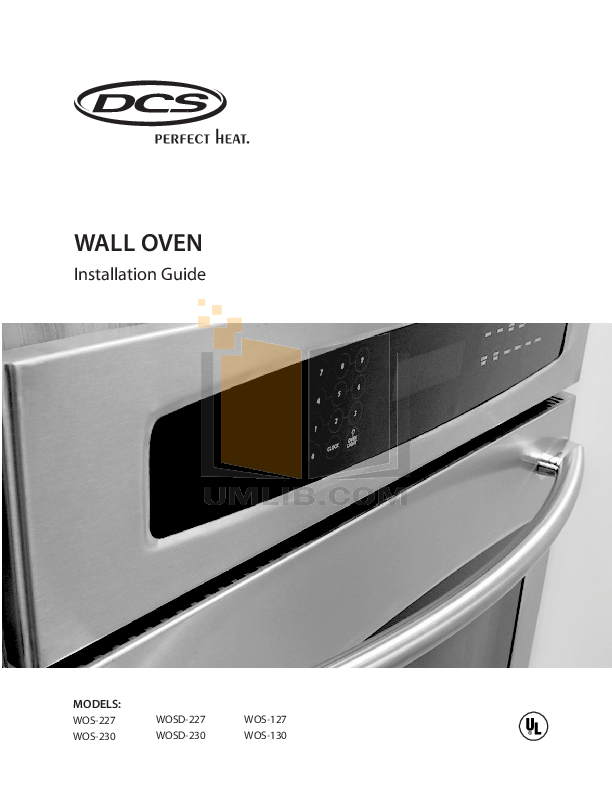 download free pdf for dcs wos 127 oven manual rh umlib com DC's Commercial Oven dcs wall oven manual