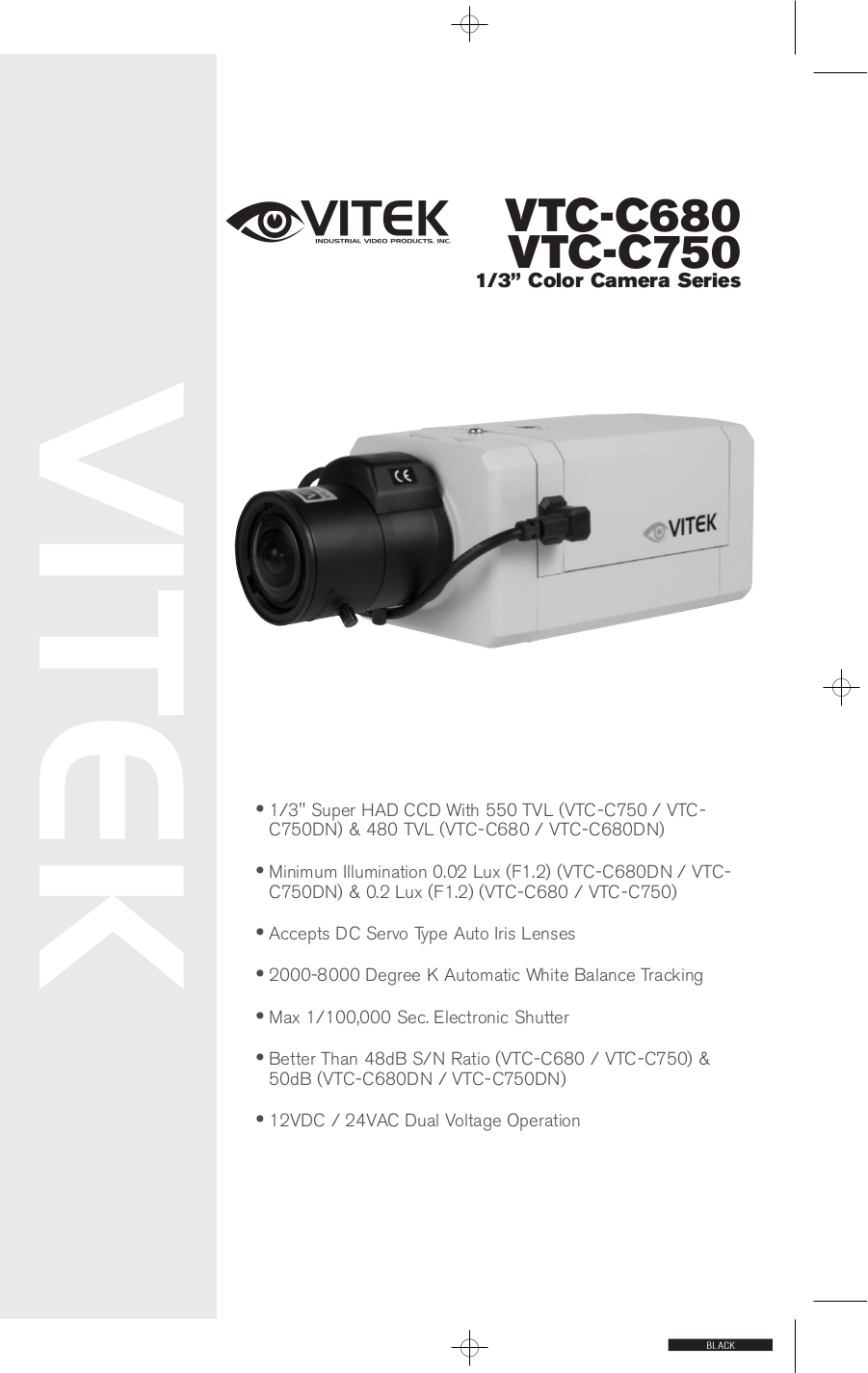 pdf for Vitek Security Camera VTC-C680 manual