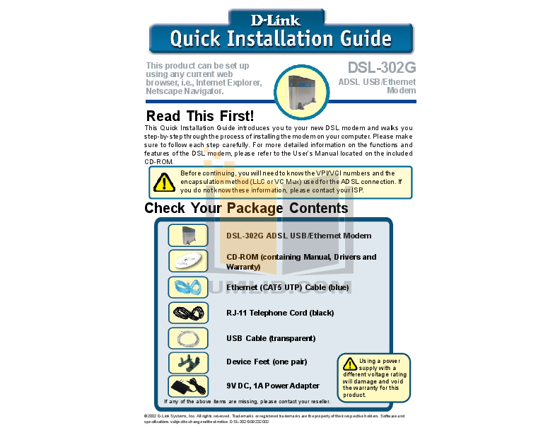 QUICK INSTALLATION GUIDE - PDF - docplayeres