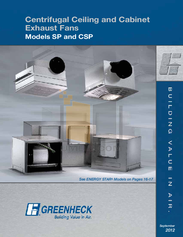 pdf for Broan-NuTone Other Designer Series 714 Exhaust Fans manual