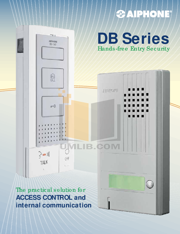 pdf for Aiphone Other DA-2DS Intercoms manual