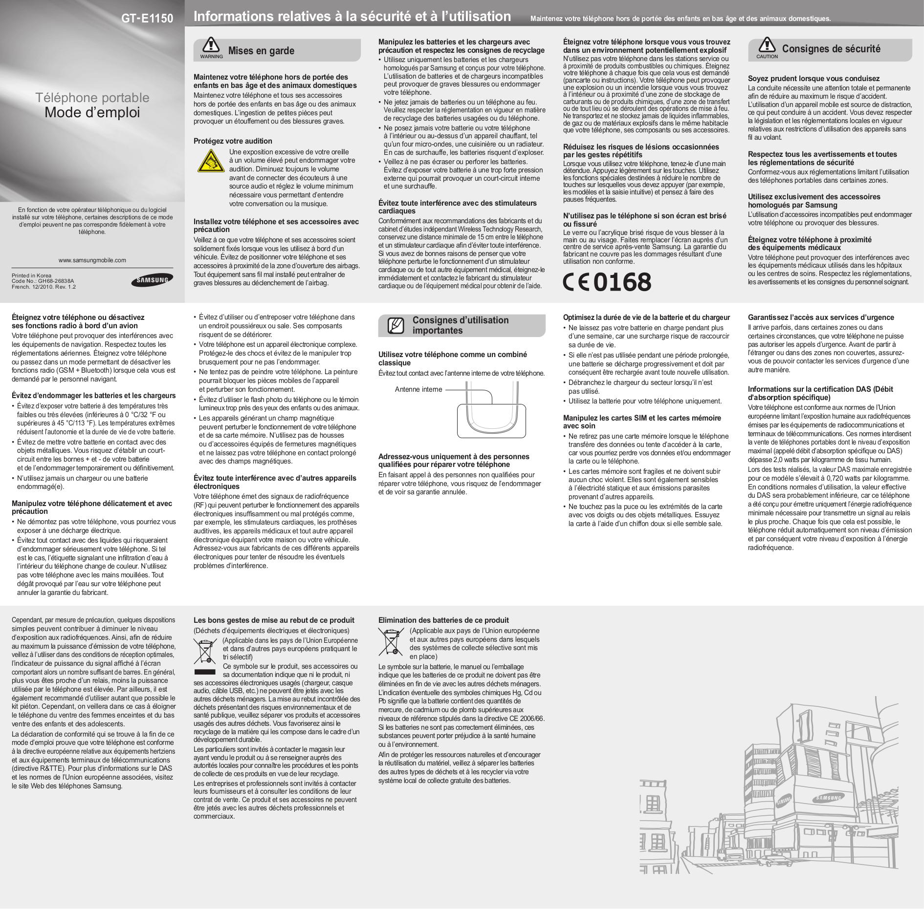 download free pdf for samsung e1150 cell phone manual rh umlib com Samsung Galaxy Pro Samsung E1100