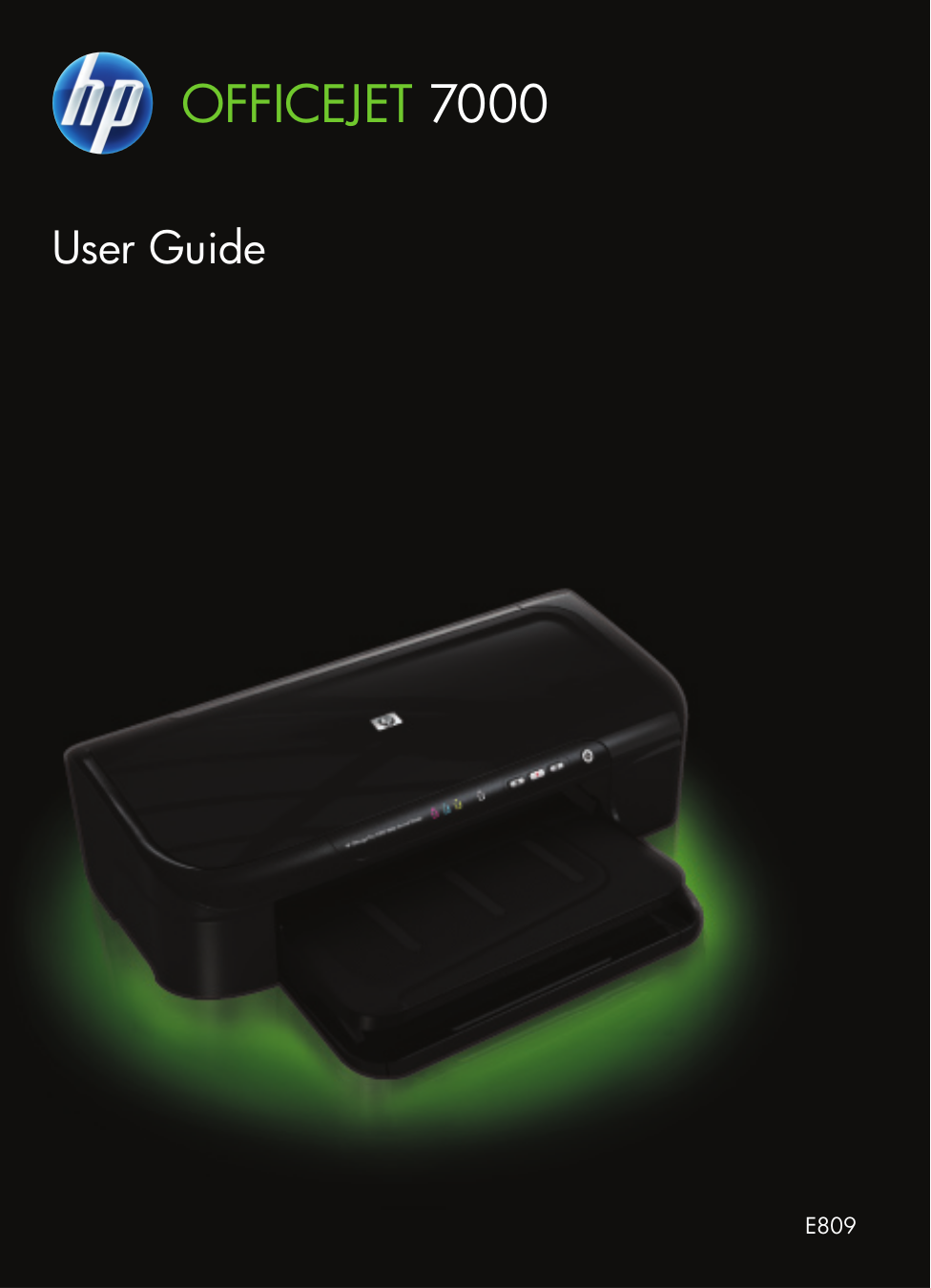 pdf for HP Printer Officejet 7000 manual