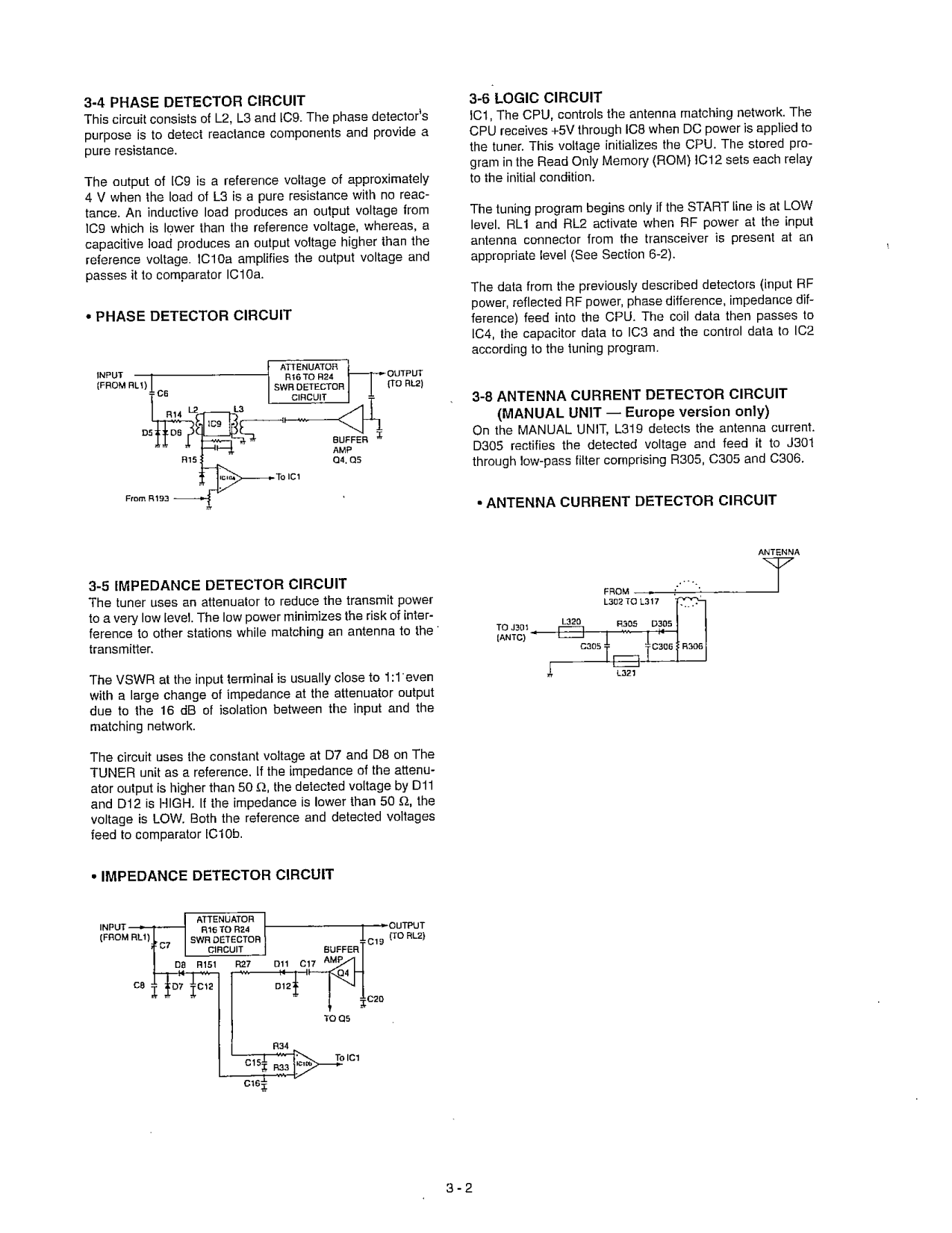 PDF manual for ICOM Other AT-130E Antenna Tuner