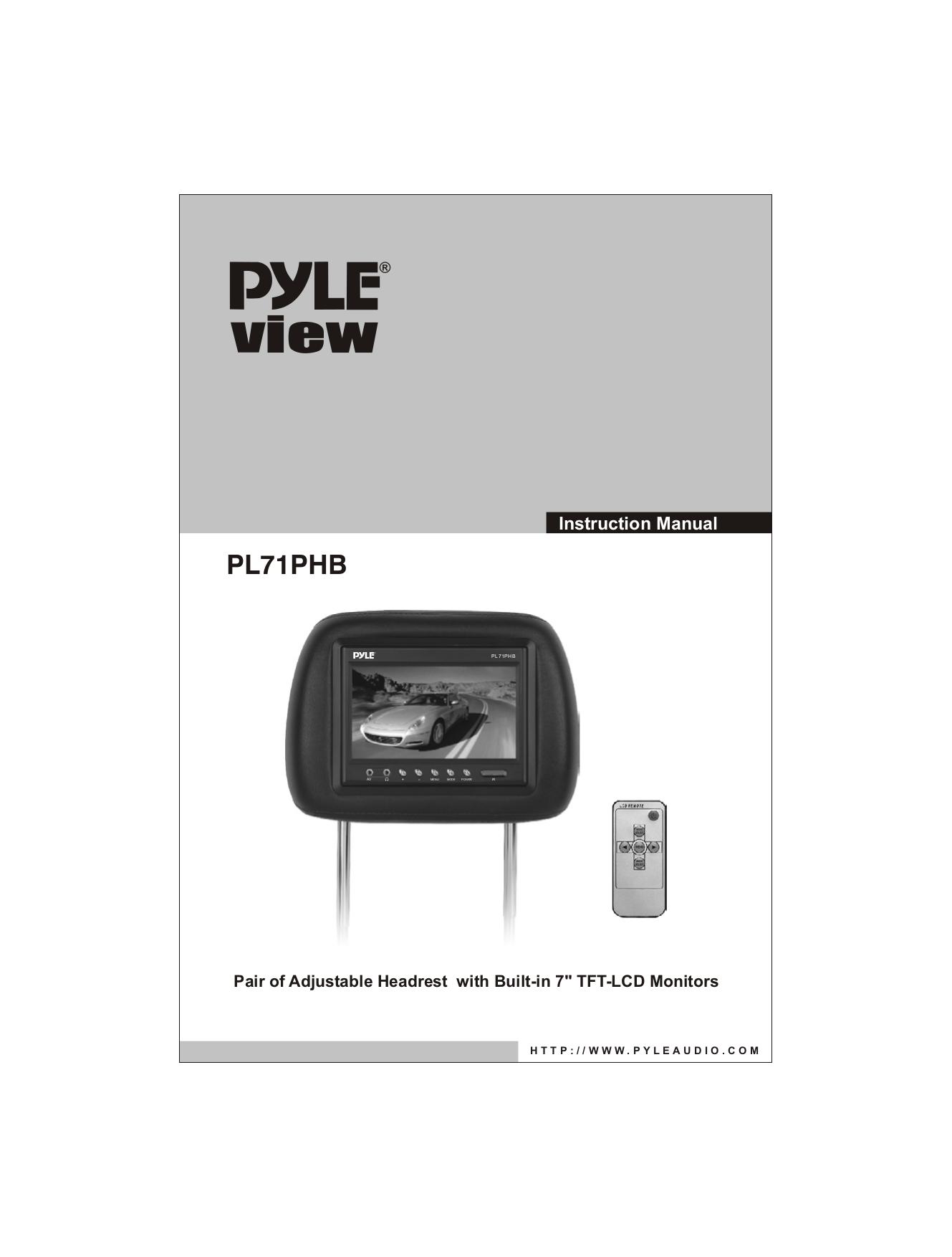 Pyle Pltsn74 Wiring Diagram Page 2 And Schematics Pldn74bti Yamaha Pacifica 112 Source Free Pdf For Pl71phb Car Video Manual Rh Umlib Com Stick Shift Cars Trashing