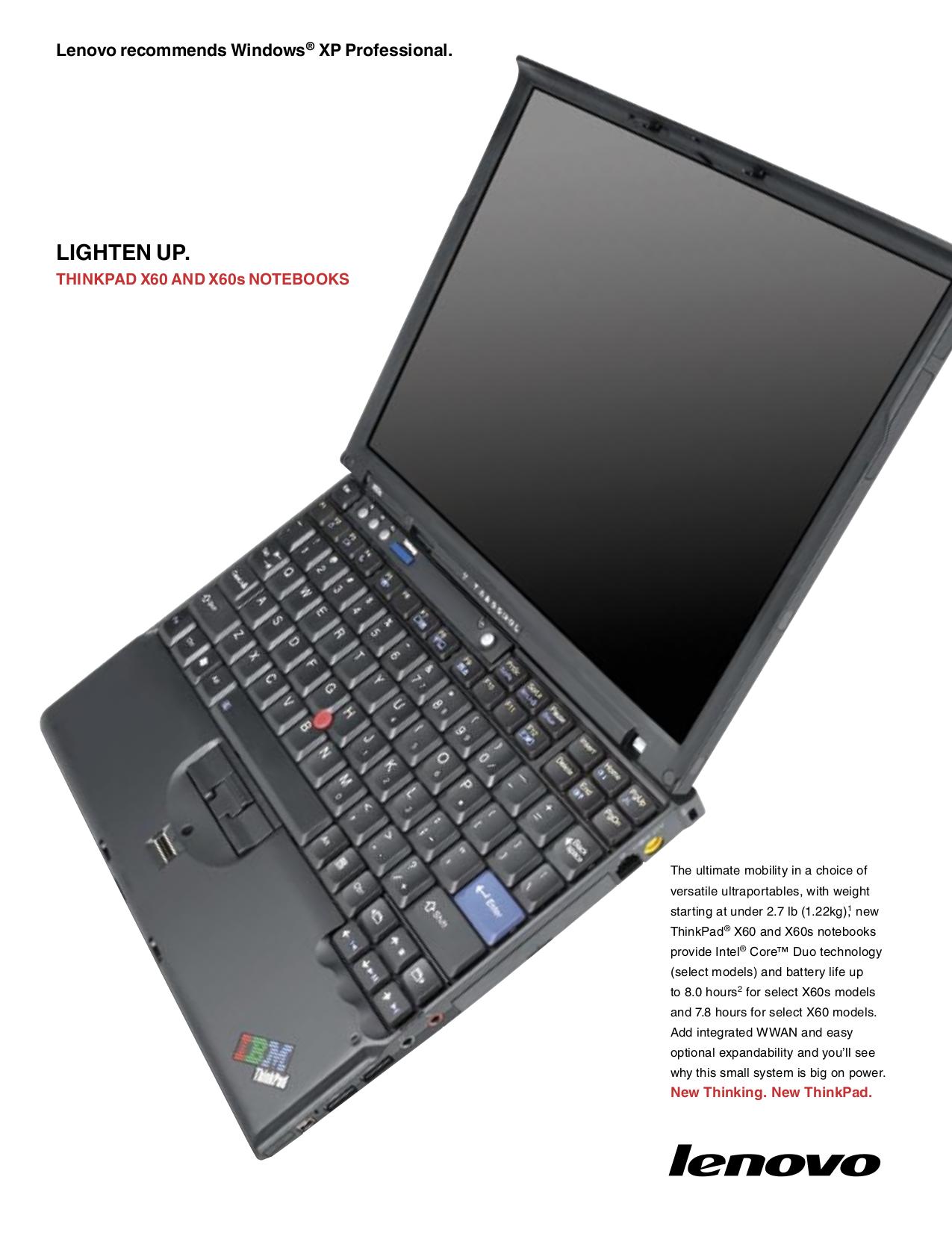 download free pdf for lenovo thinkpad x60 1706 laptop manual rh umlib com ThinkPad X1 Carbon IBM X60 Drivers