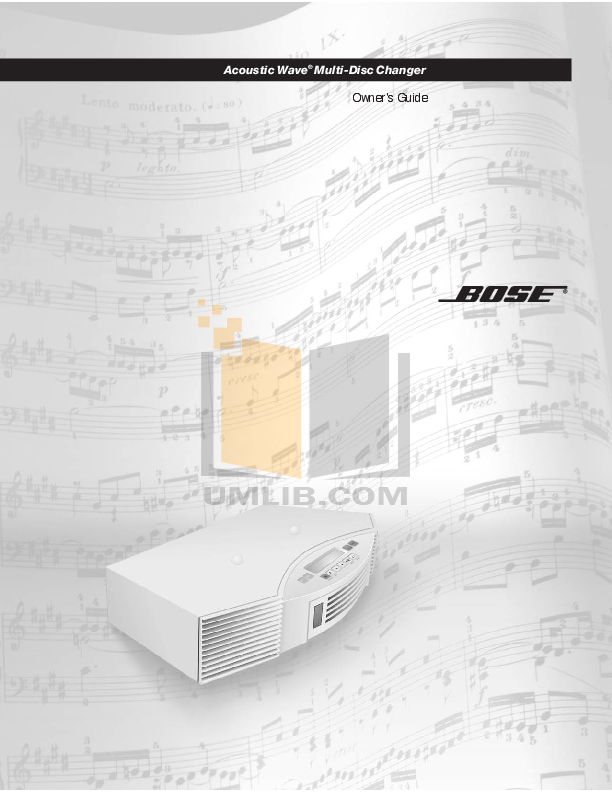 download free pdf for bose wave music system multi cd changer cd rh umlib com Bose Wave Multi CD Player Bose Wave Multi CD Player
