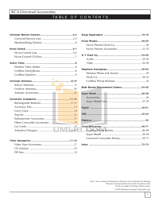 pdf for Hitachi TV 46EX3B manual