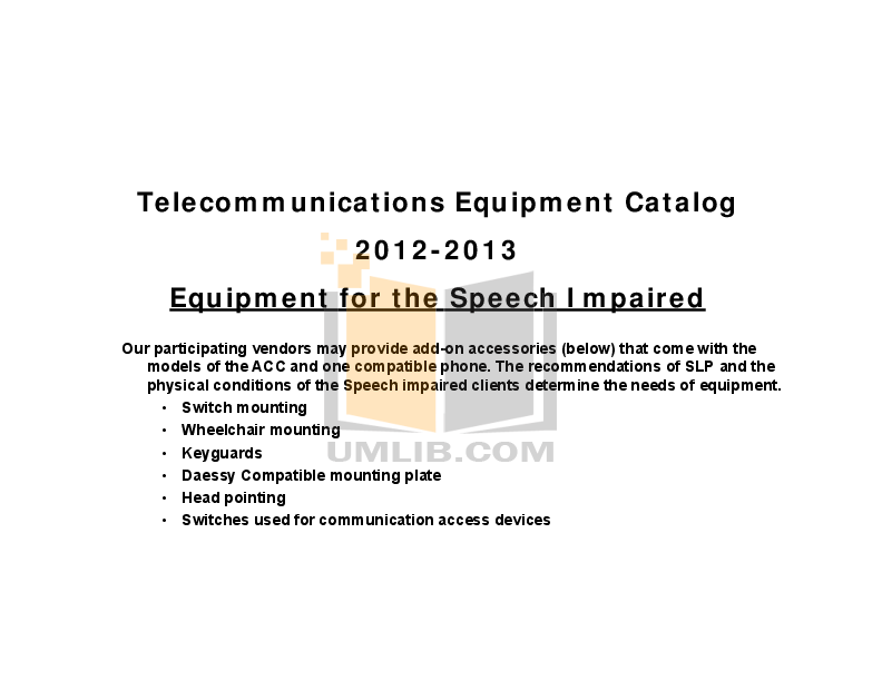 pdf for Ameriphone Telephone RC200 manual