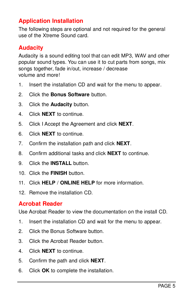 PDF manual for JBL Speaker Control Control 1Xtreme