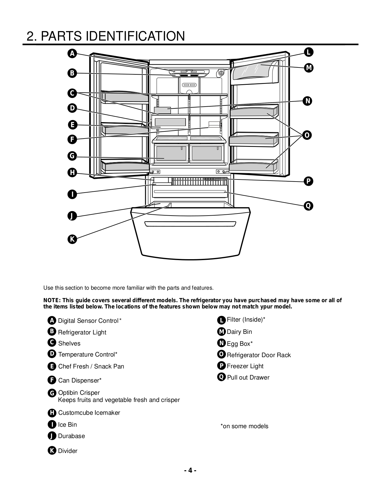 ... LG Refrigerator LFC23760ST pdf page preview ...