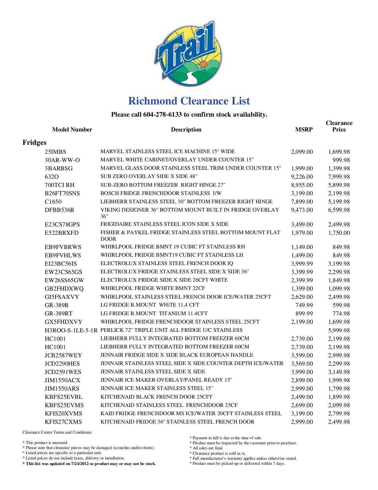 pdf for LG Refrigerator LFC23760ST manual