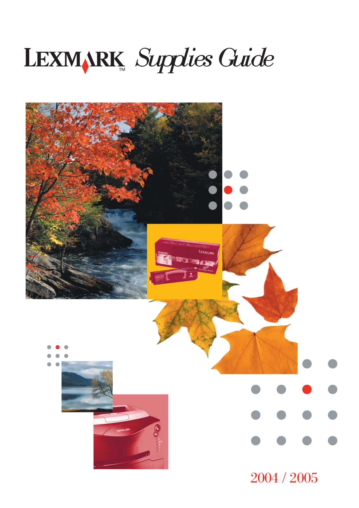 pdf for Lexmark Printer Z33 manual