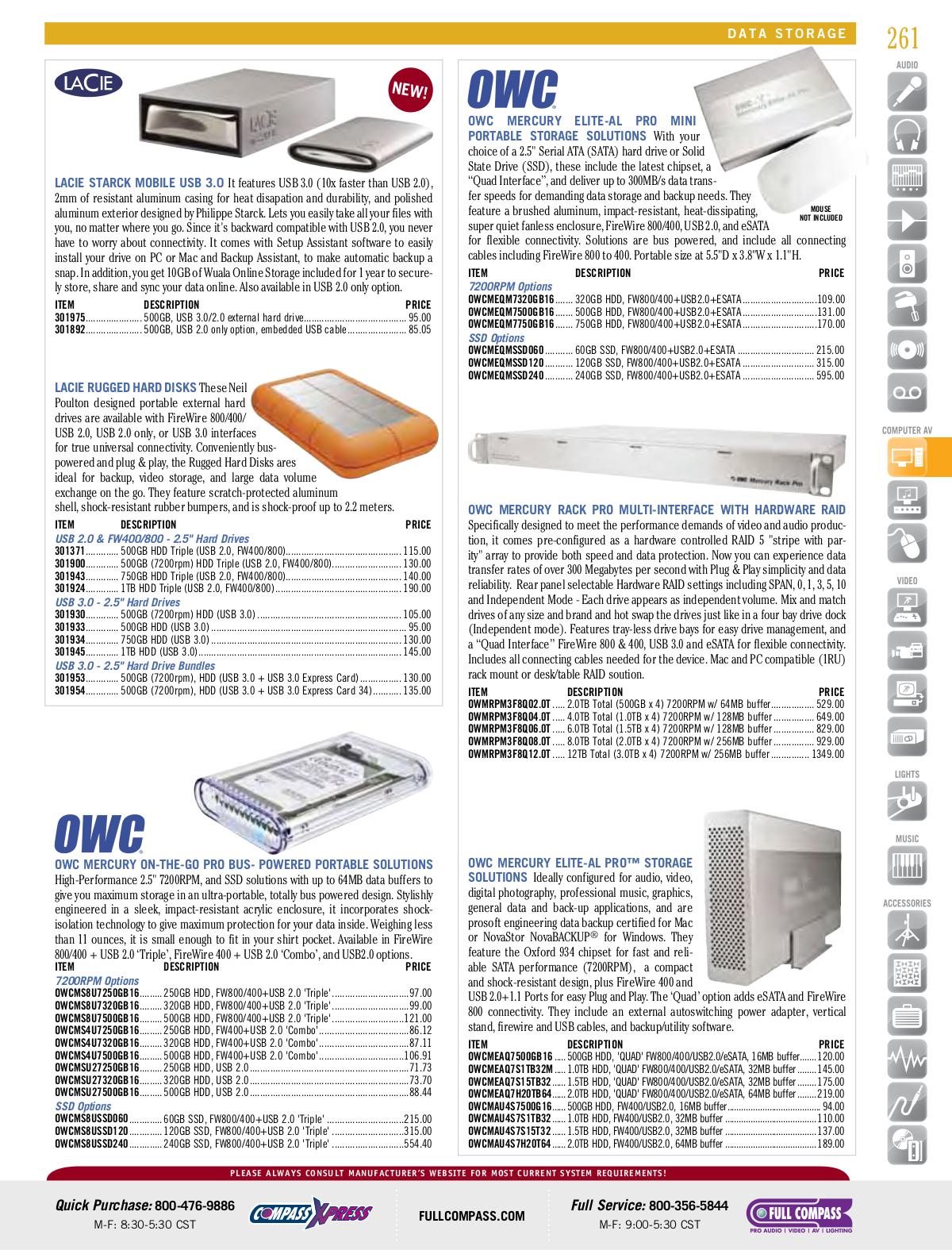 LaCie Storage 301442U pdf page preview