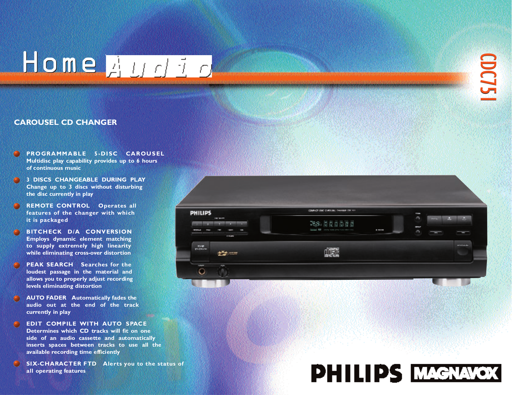 download free pdf for philips cdc751 17 cd player manual rh umlib com philips cd150 cd player manual philips mp3-cd player exp2546 manual